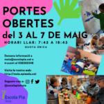 Portes obertes a la Llar d'Infants de l'Escola Pia