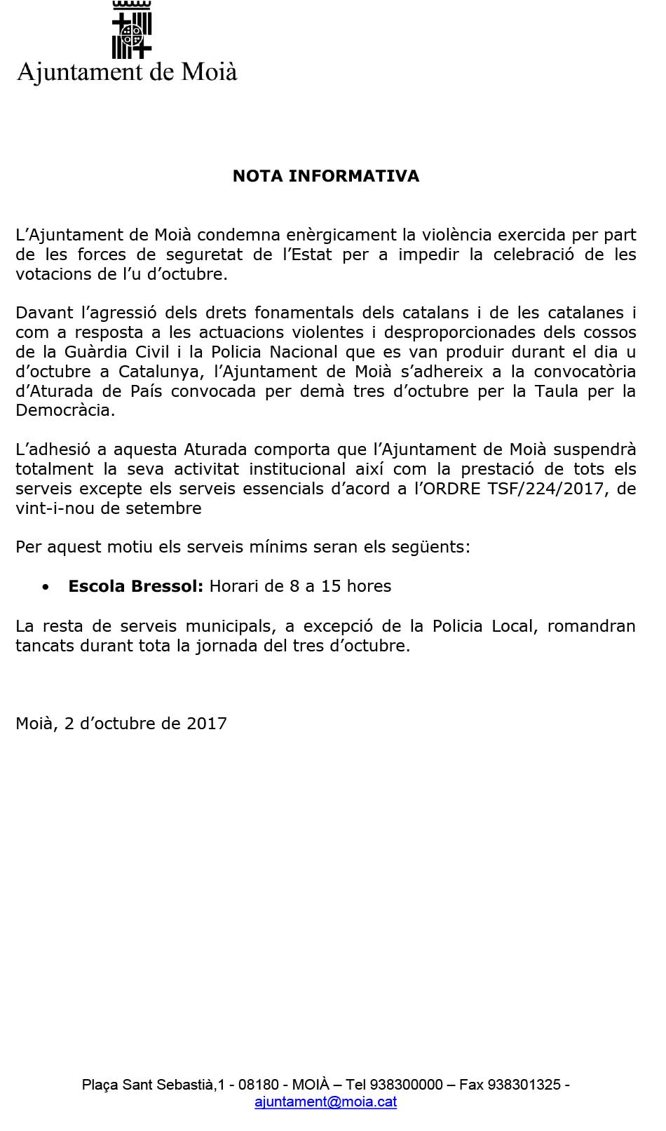 NOTA-INFORMATIVA-PARADA-GENERAL-3-OCT-2017